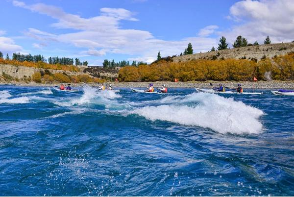 Rapids on Clutha River