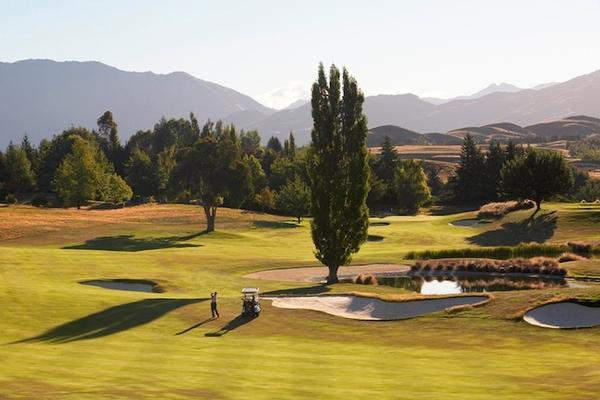 The Remarkables Nine course at Millbrook Resort co-host of the 2014 NZ Open.