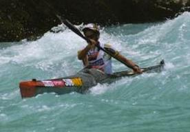 Richard Ussher's winning Kayak in charity auction