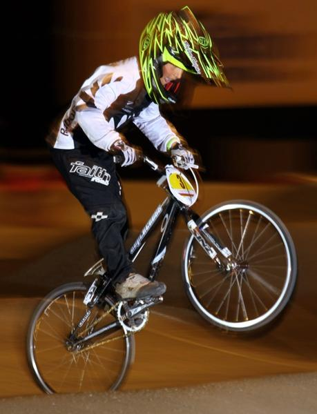Rico Bearman in action at last year's world championships in Birmingham.