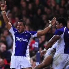 Samoa had cause to celebrate in Cardiff again with victory over Wales