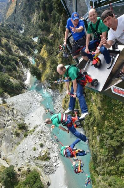 Shotover Canyon Swing S New Trike Jump Filmed For Mountain