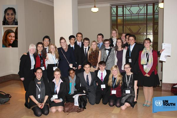22 Outstanding young NZers chosen to represent New Zealand at The Hague International Model United Nations Conference 2013