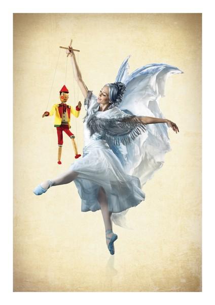 TOWER Tutus on Tour - Pinocchio - Blue Fairy Antonia Hewitt