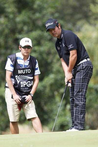 Toshi Muto will lead the line-up of professional golfers at the NZ Open.