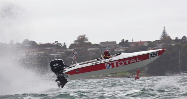 Total Oil leaping high at Auckland