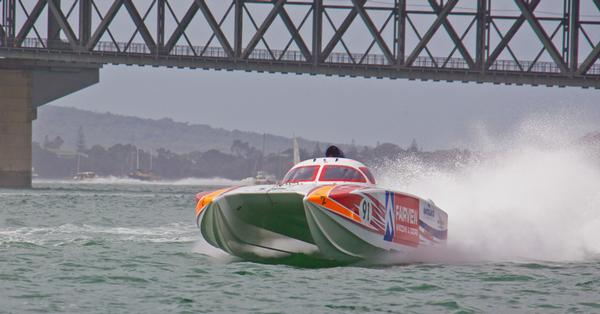 Fairview wins the Superboat Championship at Auckland