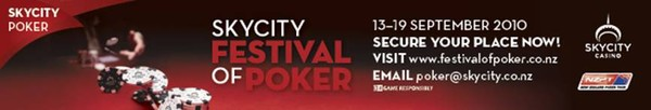 The SKYCITY Festival of Poker is here!