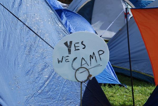 'Yes we camp'
