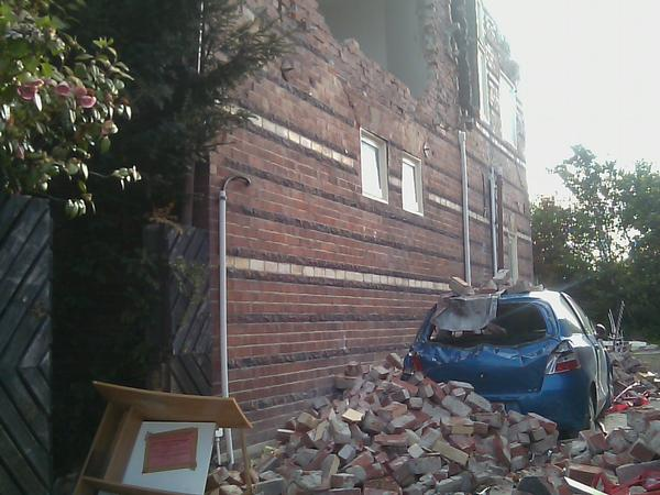 A St Albans house and car after September 4, 2010.