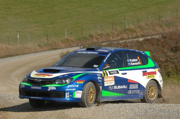 Geraldine's Hayden Paddon has a commanding lead after nine stages of the 2011 DriveSouth Rally of Otago