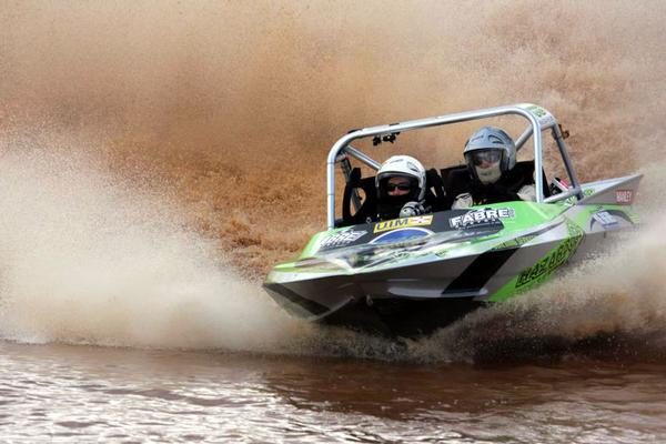 Aussie jet sprint boat champ rates opposition | infonews.co.nz New Zealand's local news community