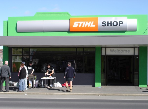 local businessman brings the power of stihl shop to mosgiel new zealand 39 s. Black Bedroom Furniture Sets. Home Design Ideas